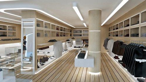 Studio sagitair architettura interior design render for Negozi arredamento lugano