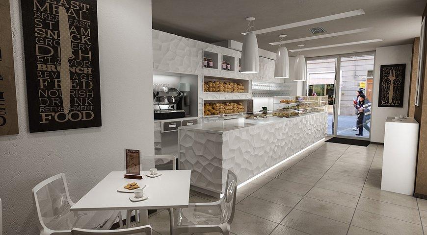 Studio sagitair architettura interior design render for Design render milano
