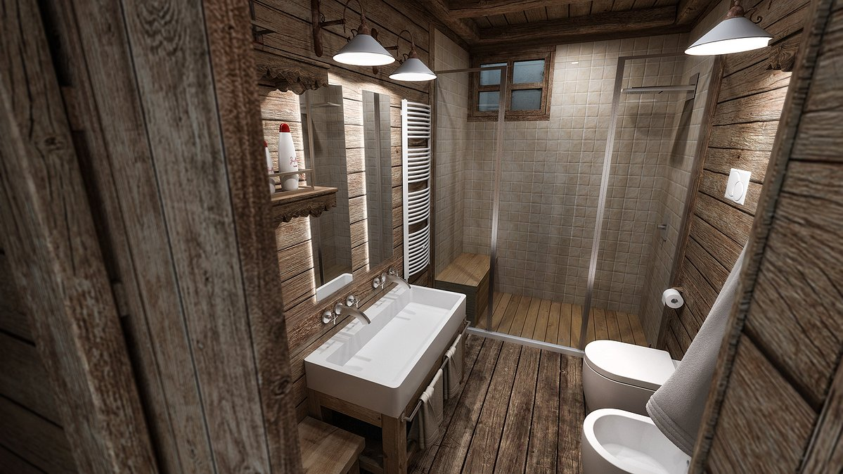 Studio sagitair architettura interior design render - Vica arredo bagno ...