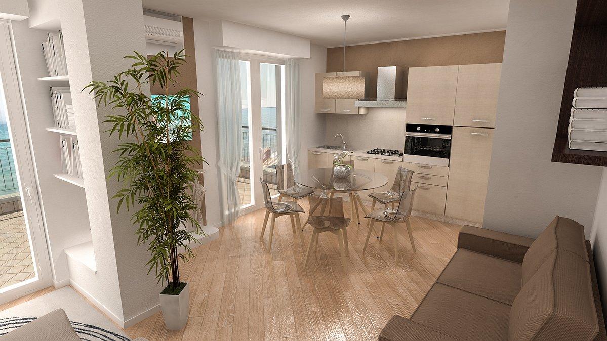 Studio sagitair architettura interior design render for Appartamenti di design