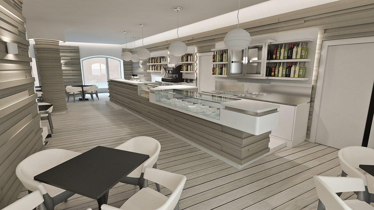 arredare taverna moderna. immagine di una grande camera padronale ... - Arredamento Moderno Per Pizzerie